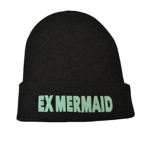 Ex Mermaids Dark Grey Beanie