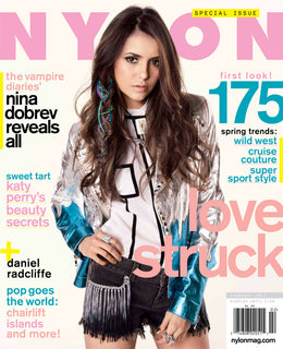Nina Dobrev, February 2012 Issue