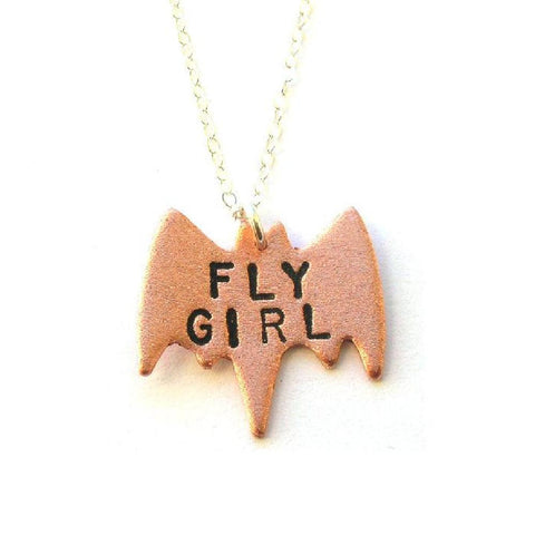 Fly Girl Pendant