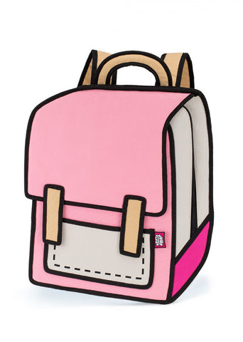 Spaceman Backpack in Pink