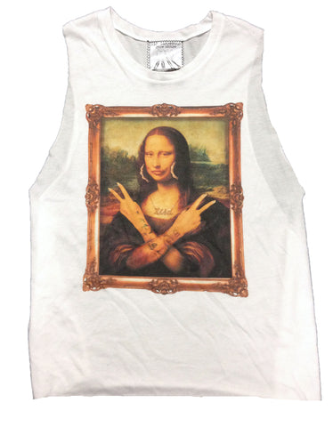 Gangsta Lisa Muscle Tank