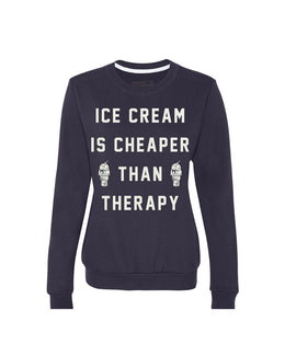Ice Cream Therapy Crewneck
