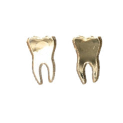 Gold Teeth Earrings
