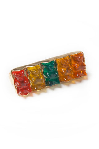Three Finger Gummy Bear Ring