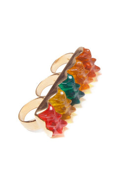 Three Finger Gummy Bear Ring View 2