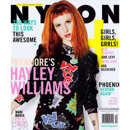 #TBT Hayley Wiliams, NYLON Anniversary Cover