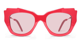 Hestia Sunglasses in Red