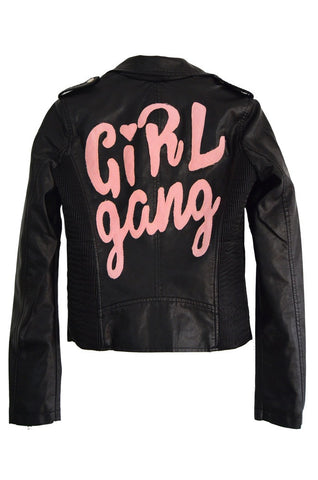Girl Gang Moto Jacket