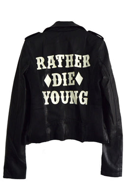 Rather Die Young Moto Jacket