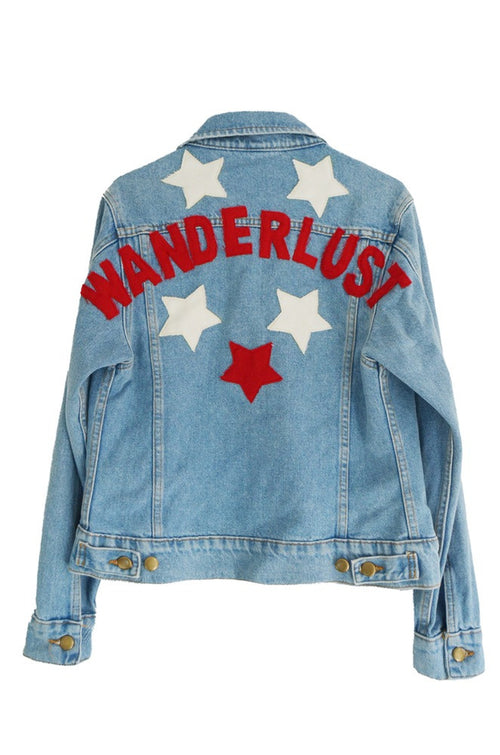 Wanderlust Denim Jacket