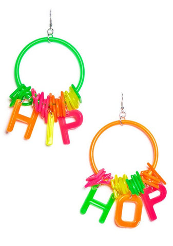Hip Hop Hoop Earrings