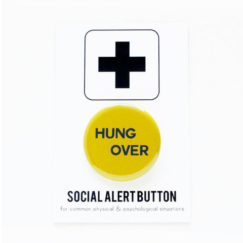 Hungover Pin