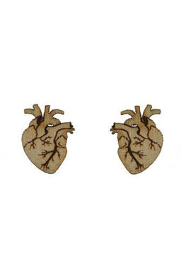 Ventricle Stud Earrings View 2