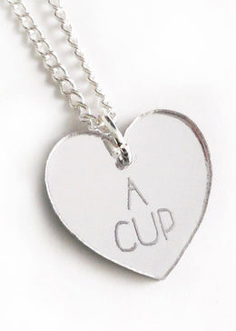 A Cup Pendant Necklace