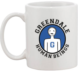 Greendale Human Beings Mug