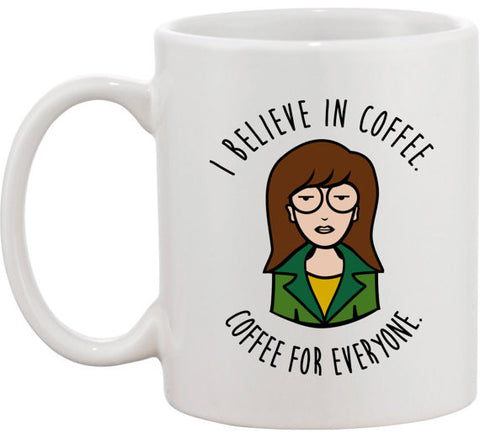 I Believe In Coffee Mug