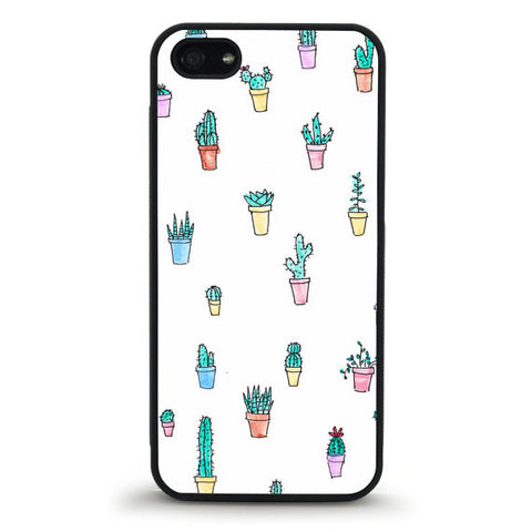 Potted Cactus iPhone 5/5s Case