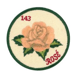 I Love Rose Patch