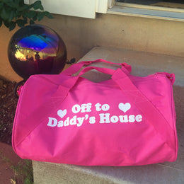 Off To Daddy's House Duffle Bag View 2