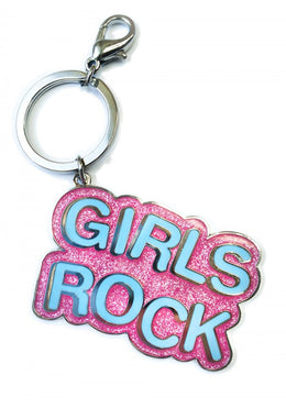 Girls Rock Keychain