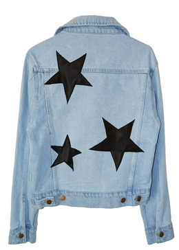 Starry Day Denim Jacket View 2