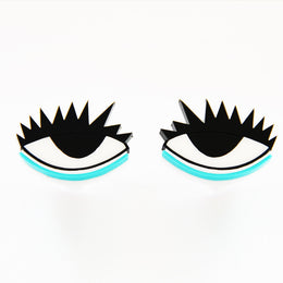 Eye in Eye Stud Earrings