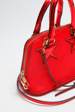Shooting Star Minibag in Red View 2