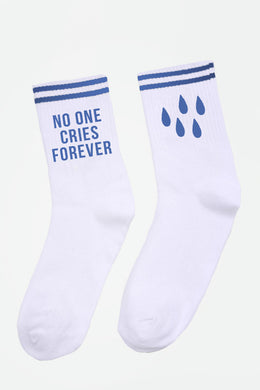 No One Cries Forever Socks