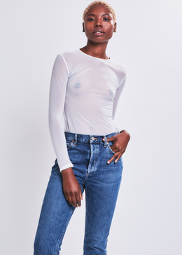 Eveline Top in White
