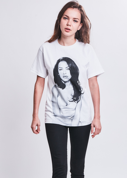 Aaliyah Over Shoulder Tee