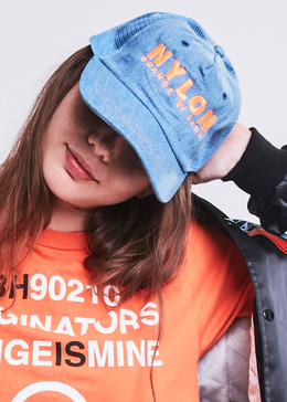 NYLON Magazine x OBB Collab Hat View 2