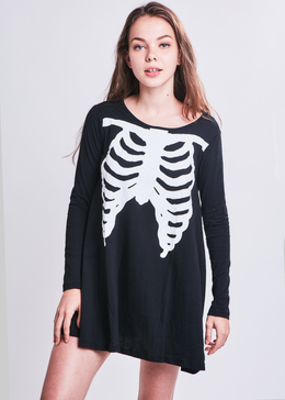 Wishbone Trapeze Dress