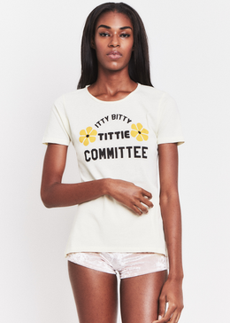 Itty Bitty Tittie Committee Tee View 2