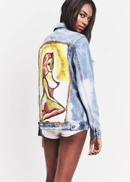 Madonna Denim Jacket View 2