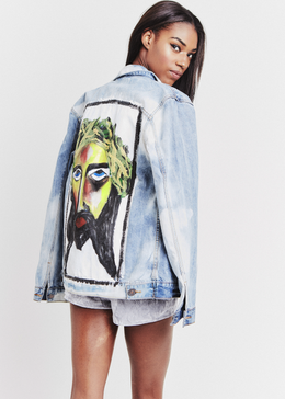 J. Piece Denim Jacket View 2