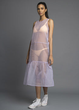 All Cried Out Organza Maxi Dress View 2
