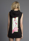 Nails Sleeveless Hoodie