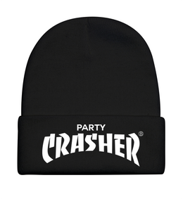 Party Crasher Beanie in Black