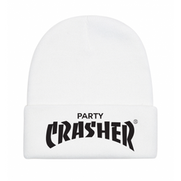 Party Crasher Beanie in White