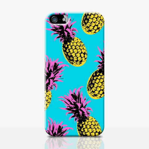 Pop Art Pineapple iPhone Case