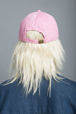 Pink Fight Like A Girl Baseball Cap View 2