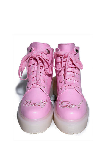 Light Pink Baby Girl Boot