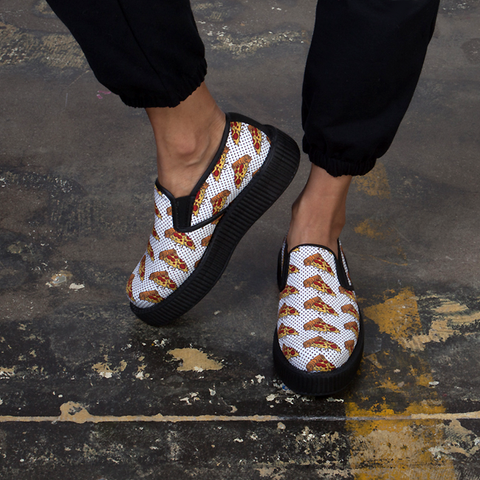 Pizza Slip On Creepers