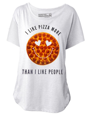I Like Pizza More Than I Like People Tee