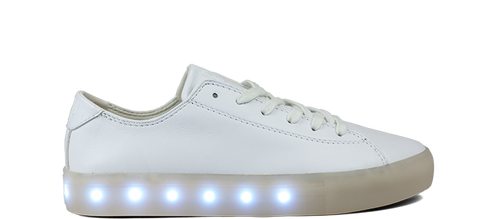 SL Shoes in White Leather