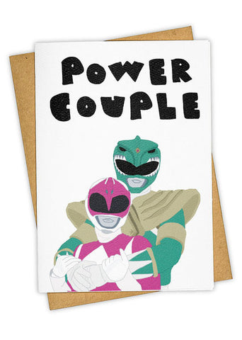 Power Couple Greeting Card