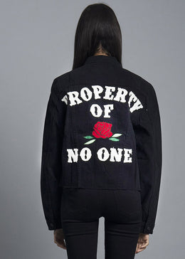 Property of No One Jacket View 2