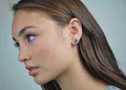 Brain Stud Earrings View 2