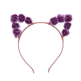 Purple Meow Crown