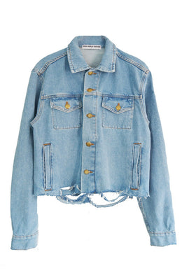 Pussy Power Denim Jacket View 2